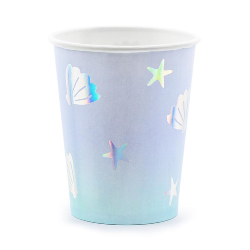 Immagine di Party Deco® Bicchieri Narwhal 220ml 6 pezzi