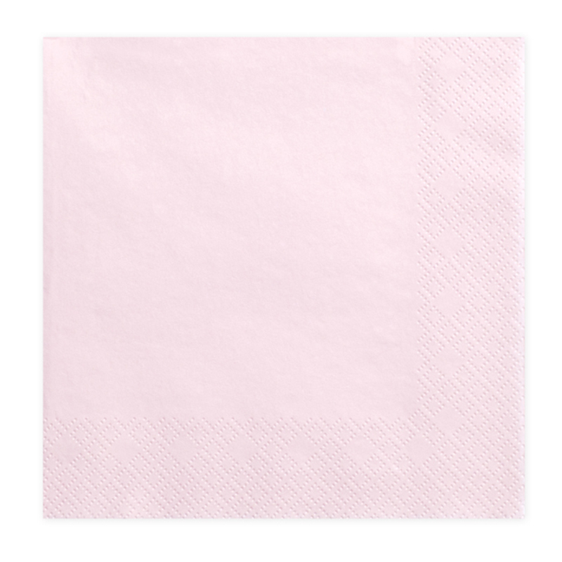 Immagine di Party Deco® Tovaglioli  Powder Pink 20 pezzi