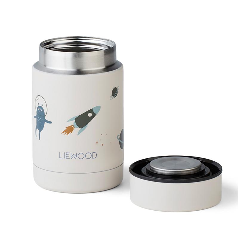 Immagine di Liewood® Termo contenitore per pasti Nadja Space Sandy Mix 250ml