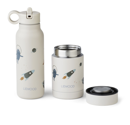 Immagine di Liewood® Set contenitore termico e thermos Marlow Space sandy Mix