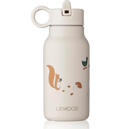 Liewood® Coperchio con cannuccia e spazzolino per pulire la boraccia Falk 250ml Creme