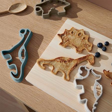 Immagine di Liewood® Karina Set per i pancake Dino khaki multi mix