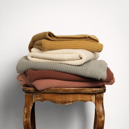 Immagine di Elodie Details® Coperta di lana Chocolate 75x100