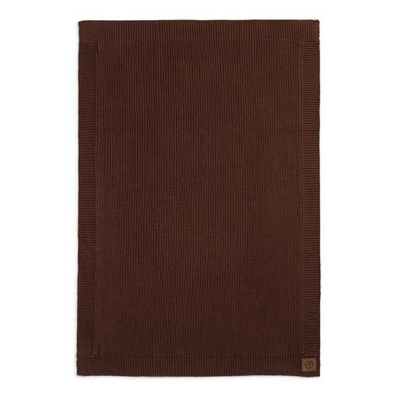 Elodie Details® Coperta di lana Chocolate 75x100