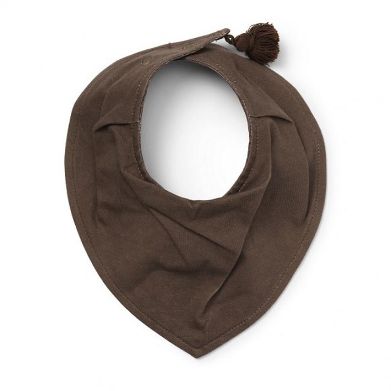 Immagine di Elodie Details® Bavaglino a Bandana cotone Chocolate