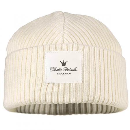 Immagine di Elodie Details® Cappellino in lana Vanilla White - 0-6 mesi