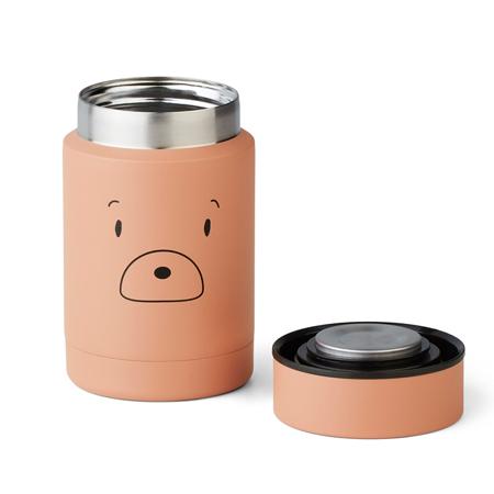 Immagine di Liewood® Termo contenitore per pasti Nadja Mr bear Tuscany Rose 250ml