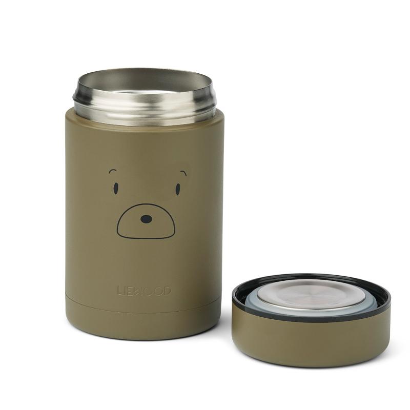 Immagine di Liewood® Termo contenitore per pasti Nadja Mr bear Khaki 250ml