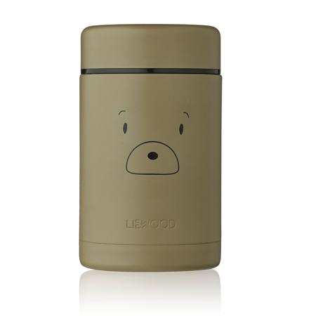 Liewood® Termo contenitore per pasti Nadja Mr bear Khaki 250ml