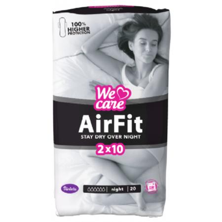 Immagine di Violeta®   Assorbenti We Care Air Fit Night 20/1