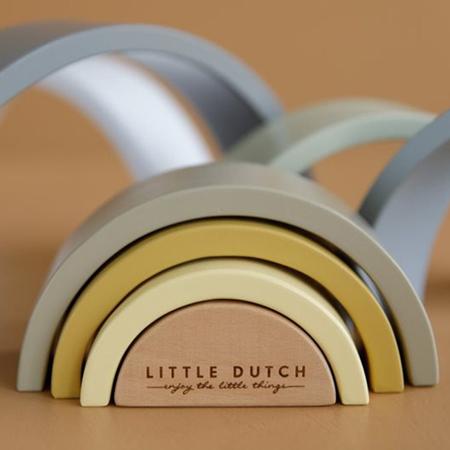 Immagine di Little Dutch® Arcobaleno in legno Blue