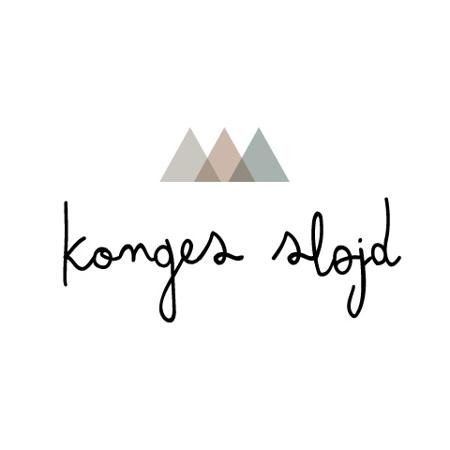Immagine di Konges Sløjd® Mollette 10 pezzi Heart Blue Shades
