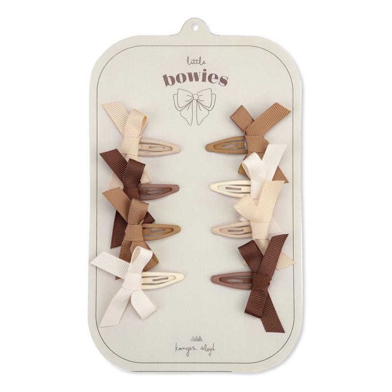 Immagine di Konges Sløjd® Mollette con fiocco 8 pezzi Bow Caramel Mix