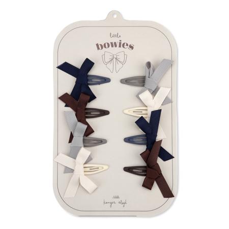Immagine di Konges Sløjd® Mollette con fiocco 8 pezzi Bow Harlequin