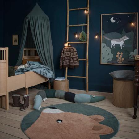Sebra® Cuscino Sleepy Croc Hazy Blue
