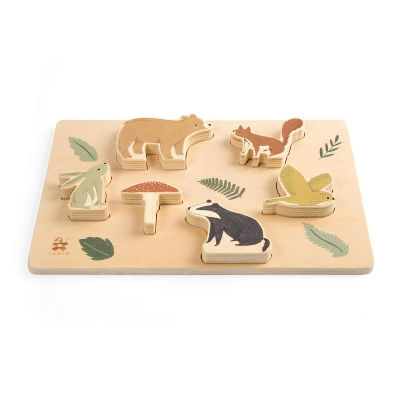 Immagine di Sebra® Puzzle di legno Nightfall