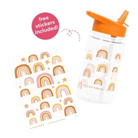 A Little Lovely Company® Bottiglietta Rainbows