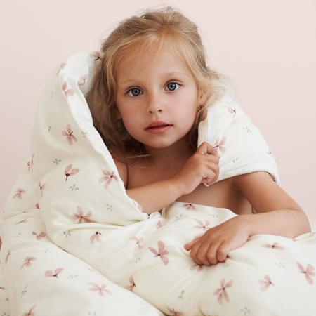 CamCam® Biancheria da letto per bambini Windflower Creme Baby 70x100