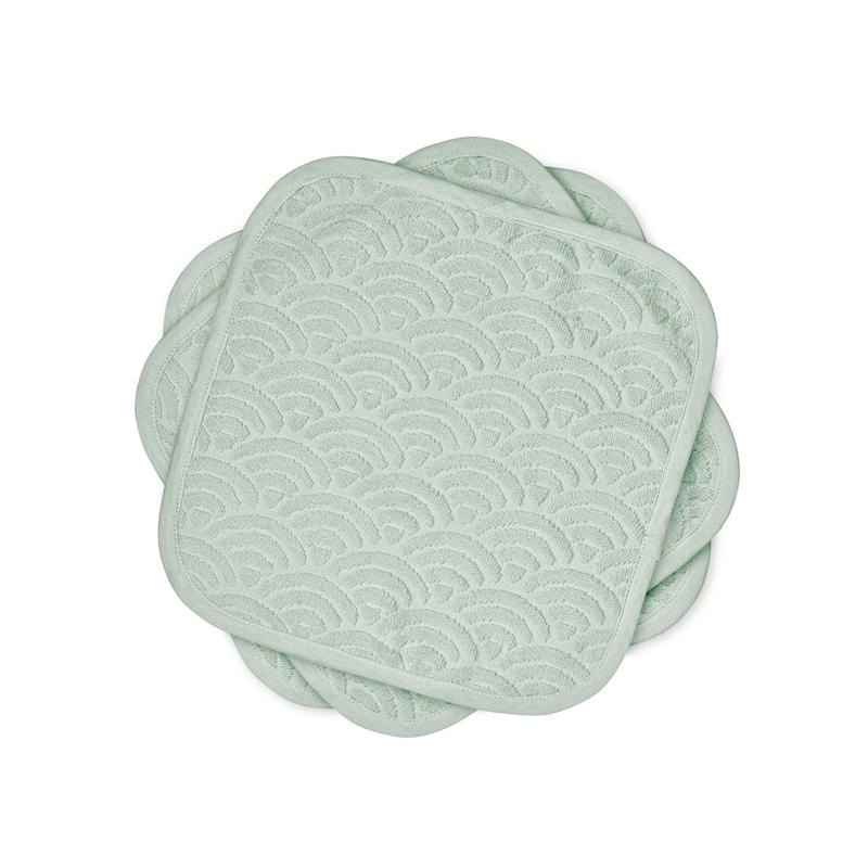 Immagine di CamCam® Panni per il lavaggio Dusty Green 30x30