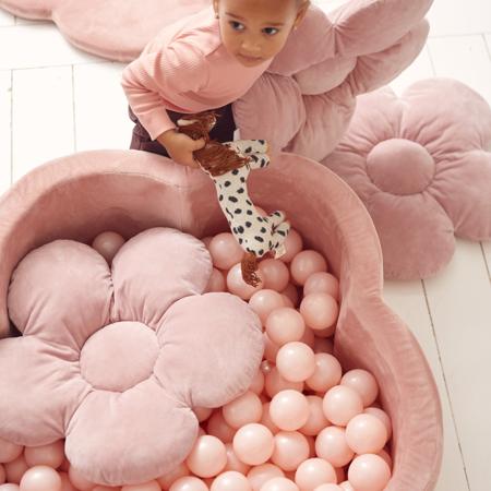 Immagine di Kidkii® Set 3 cuscini Flower Velvet Beige