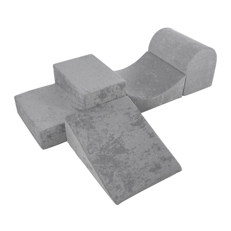Kidkii® Set da gioco Lite Velvet Grey