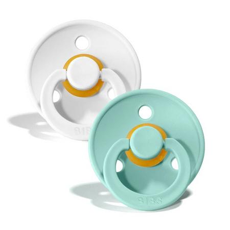 Bibs® Ciuccio White & Mint 2 (6-18m)