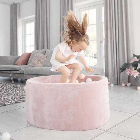 Immagine di Kidkii® Piscina con palline Pink Round Rose 90x40