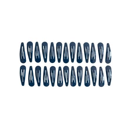 Immagine di Mollette per capelli Navy 25 pezzi