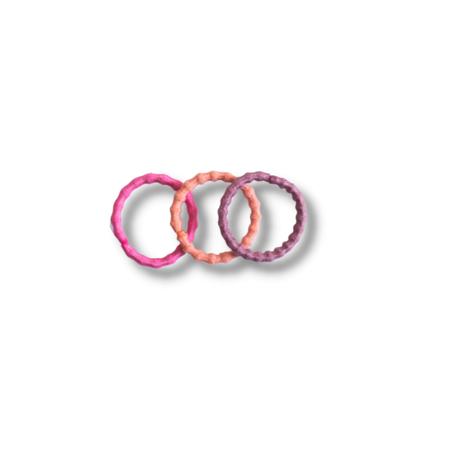Immagine di Elastici per capelli Pink Mix Ø1.5cm 100 pezzi