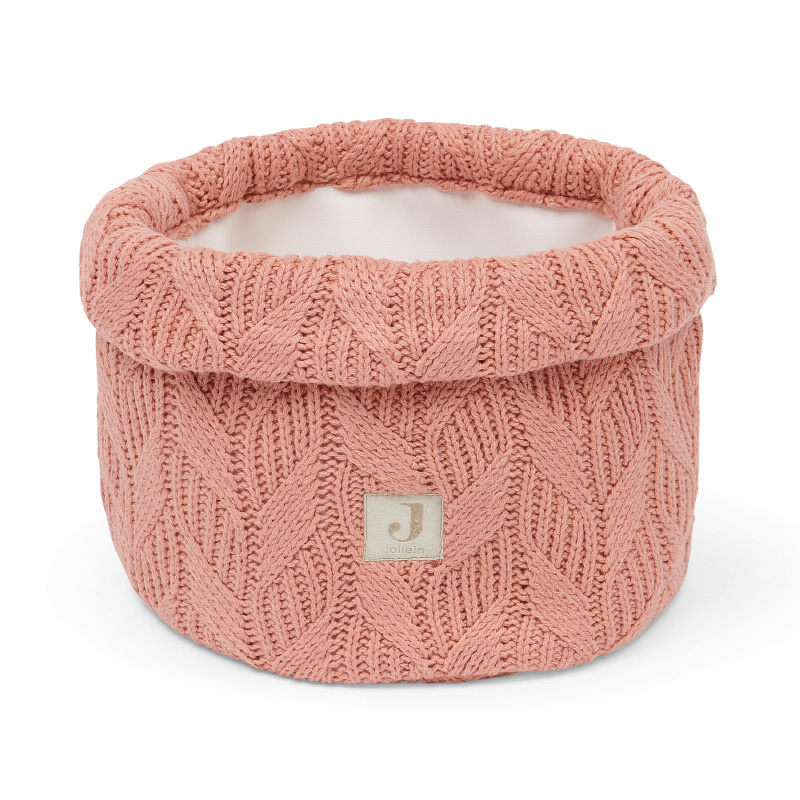 Immagine di Jollein® Contenitore Spring Knit Rosewood