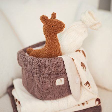 Immagine di Jollein® Contenitore Spring Knit Chestnut