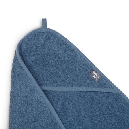 Jollein® Asciugamano con cappuccio Jeans Blue 75x75