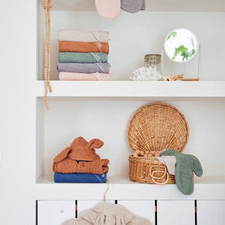Immagine di Jollein® Asciugamano con cappuccio Jeans Blue 75x75