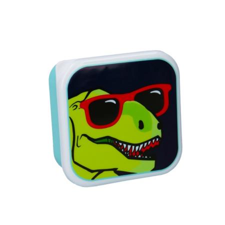 Immagine di Pret® Set di contenitori per snack Eat Drink Repeat Dinosauro