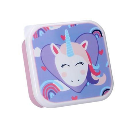 Immagine di Pret® Set di contenitori per snack Eat Drink Repeat Unicorno