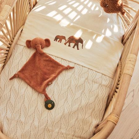 Immagine di Jollein® Coperta Spring Knit Ivory 100x75