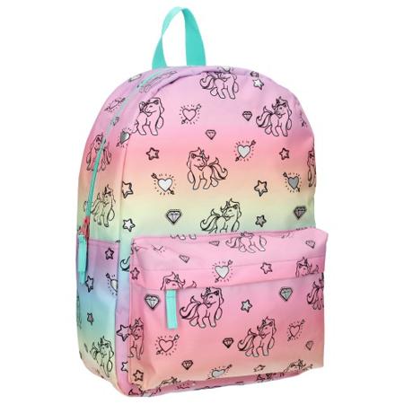 Immagine di Kidzroom® Zainetto  Milky Kiss Rainbows and Unicorns Blue Pink (M)