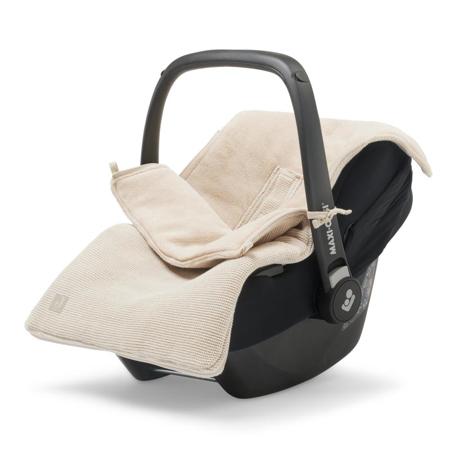 Jollein® Copertina per seggiolino auto e passeggino Basic Knit Nougat
