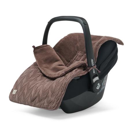 Jollein® Copertina per seggiolino auto e passeggino Basic Knit Chestnut
