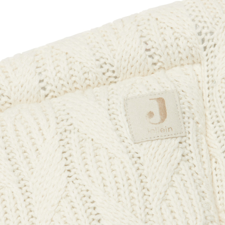 Immagine di Jollein® Paracolpi per lettino Spring Knit 180x35 Ivory