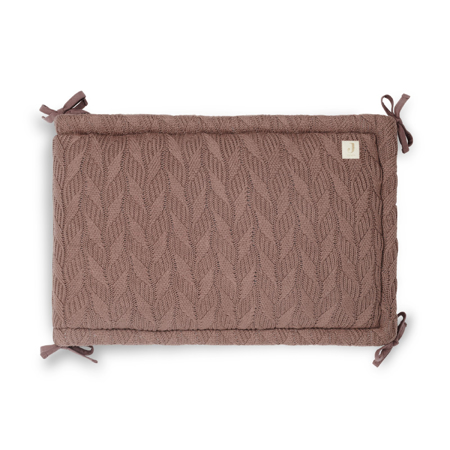 Jollein® Paracolpi per lettino Spring Knit 180x35 Chestnut
