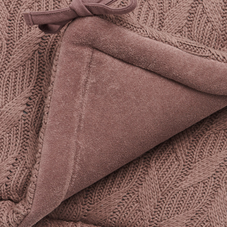 Immagine di Jollein® Paracolpi per lettino Spring Knit 180x35 Chestnut