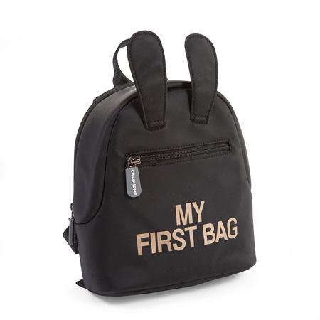 Childhome® Zaino My First Bag Black