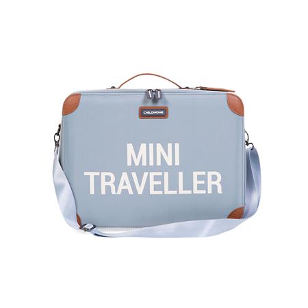 Childhome® Valigia da viaggio MINI Traveller Grey Off White