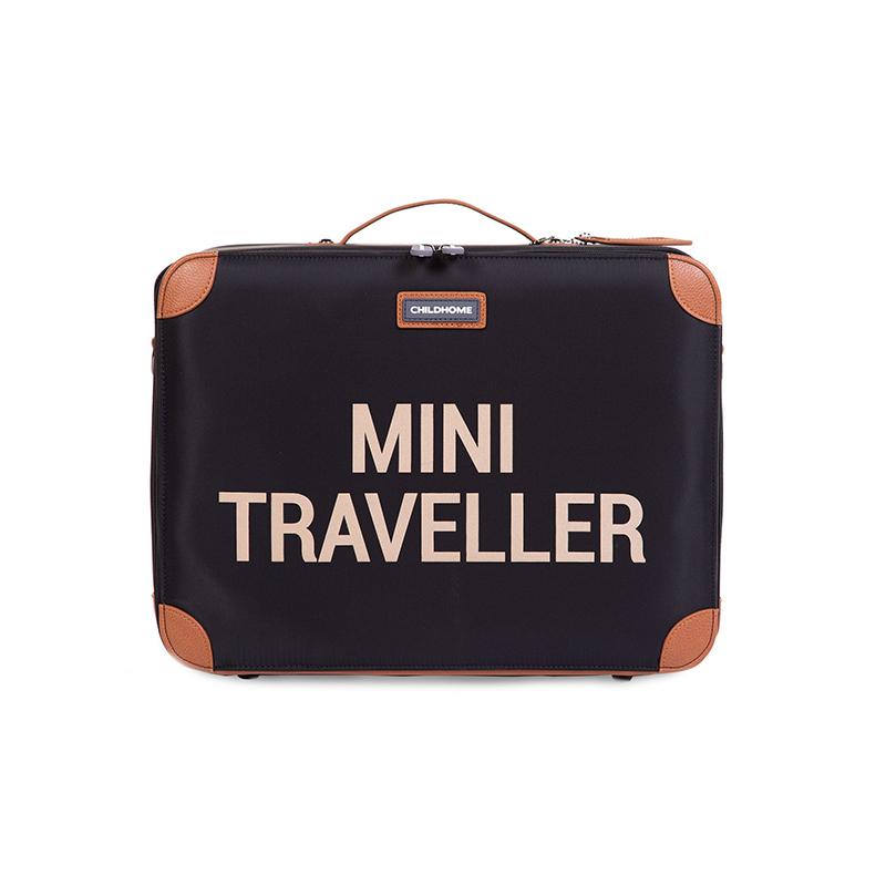 Immagine di Childhome® Valigia da viaggio MINI Traveller Black and Gold