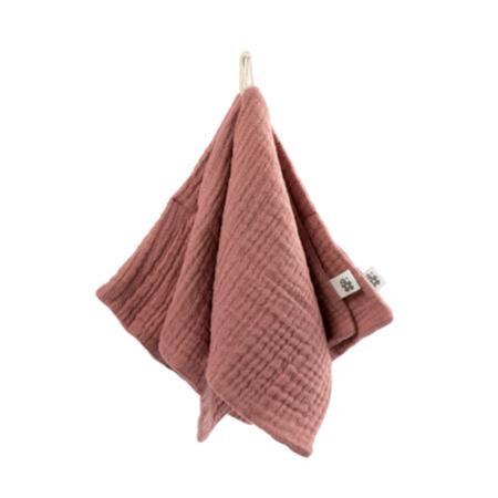 Immagine di Sebra® Set di 3 panni per il bagnetto Blossom Pink  20x20