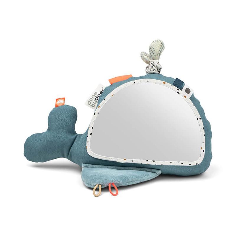 Immagine di Done by Deer® Specchio attività Wally Blue
