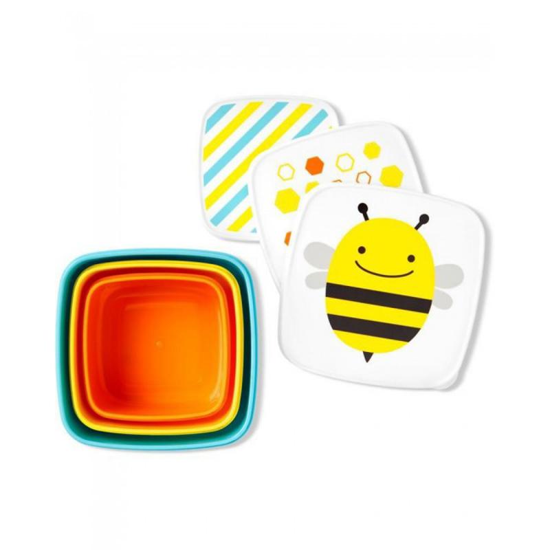 Immagine di Skip Hop® Set di contenitori per snack Ape