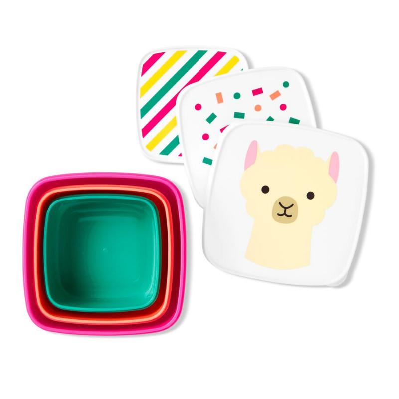 Immagine di Skip Hop® Set škatlic za prigrizke Lama