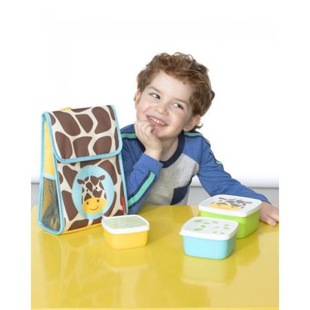 Immagine di Skip Hop® Set di contenitori per snack Giraffa